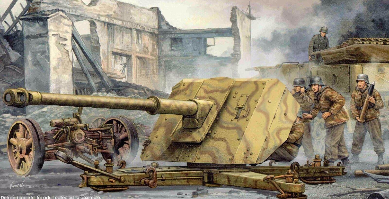 Trumpeter 2308  8,8 8,8 8,8 cm Panzerjägerkanone PAK 43    Elegant  d6f499