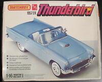 MATCHBOX PK-7509 - 1957 er THUNDERBIRD - 1:16 - Oldtimer - Bausatz - Model KIT