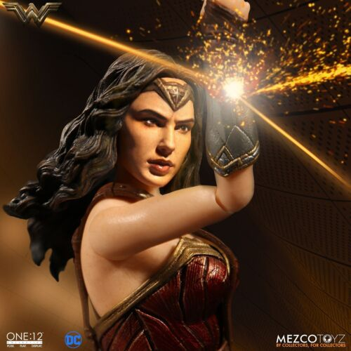 "Mezco Wonder Woman Film One:12 Collectif 6/"" Action Figure neuf en stock!"