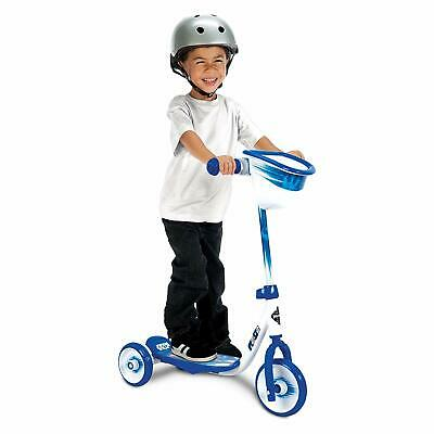 Huffy Kids 3-Wheel Scooter with Handlebar Bin, R2D2 NEW