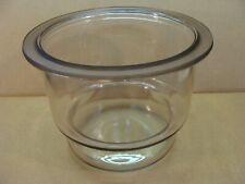 Large Glass Laboratory Vacuum Desiccator Base Bowl Nice 12 18