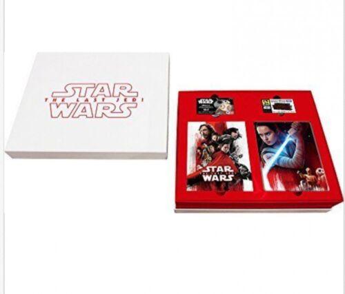 Star Wars The Last Jedi Premium Box 4K UHD Movie NEX  Japan 2018 Free shipping
