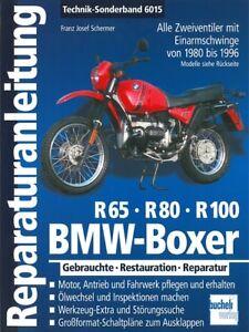Bmw Boxer R65/r80/r100 1980-1996 Reparaturanleitung Reparatur-buch/handbuch Anleitungen & Handbücher