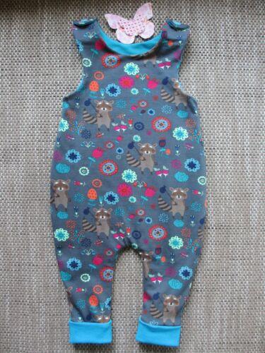 Größe 86 Geschenk Spieler Strampler Waschbär Baby