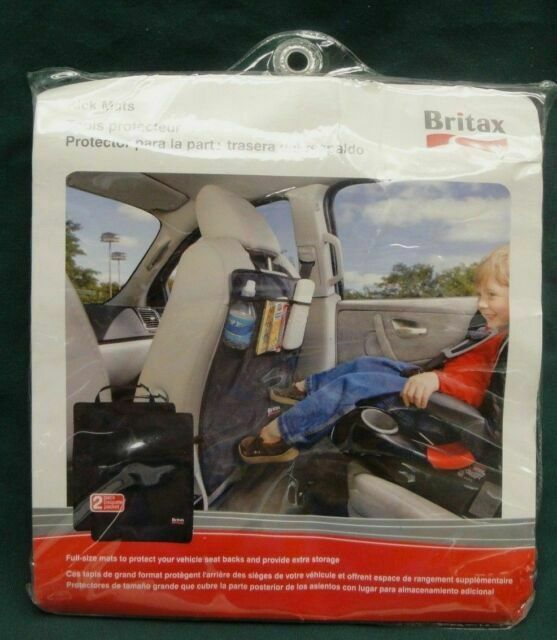 Britax 2 Pack Kick Mats Black
