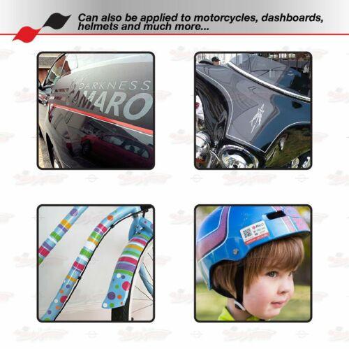 "CARBON FIBER DARK GRAY 1//2/"" STRIPE Car Model Motorcycle TAPE Vinyl Sticker 12mm"