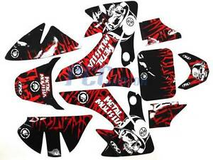 FOR HONDA CRF SDG SSR PIT BIKE GRAPHICS DECALS - Bike graphics stickers images