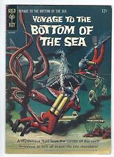 Voyage to the Bottom of the Sea #2 (1965) Silver Age Comic w Tuska Painted Cover