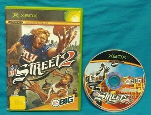 NFL Street 2 Football - Microsoft XBOX OG Game 1 Owner Working 1-4 Players