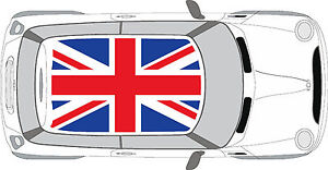 BMW Mini Cooper Union Jack Roof Decal Graphics Sticker EBay - Bmw mini roof decals