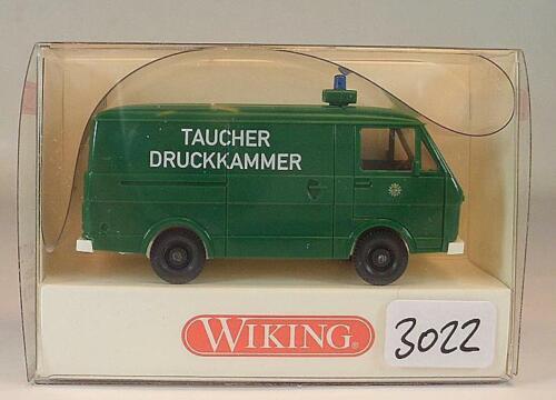 Wiking 1//87 nº 104 17 27 VW LT 28 policía submarinista presión sala OVP #3022