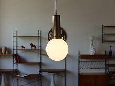 TRUE VINTAGE ART DECO DECKENLAMPE 60er Opal Lampe 70er Bauhaus Kugellampe