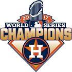 MLB Houston Astros World Series CHAMPIONS 2017 Decal / Sticker
