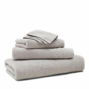 2-Ralph-Lauren-Payton-Cotton-30-034-x-58-034-Bath-Towels-Stone-Gray