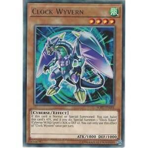 Yu-gi-oh Tcg: Clock Wyvern - Sofu-en001 - Rare Card - Unlimited Edition