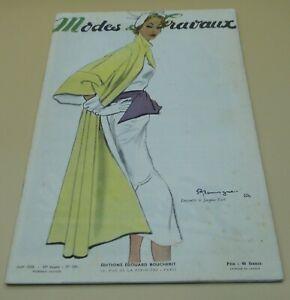 Magazine Modes & Travaux  août 1950