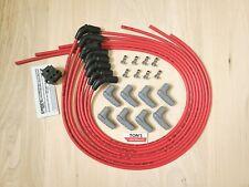42 Gm Lt Lt1 Universal Msd Red 85mm Cut To Fit Spark Plug Wire Kit Custom 90