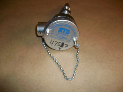 RTD Co Stainless RTD Probe  677 2P0-ZF 230F  10-30VDC   4-20mA   USED 30 TO