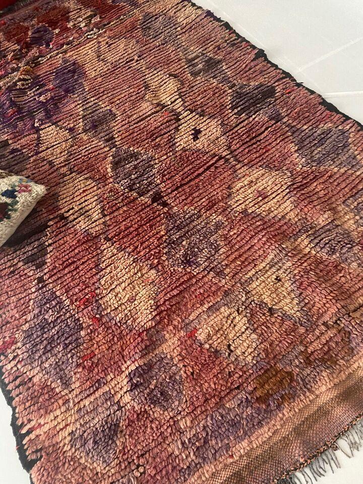 Gulvtæppe, ægte tæppe, Berber Tæppe