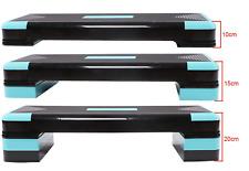 fitness step - Studio Adjustable 3 Level Aerobic Step - Blue