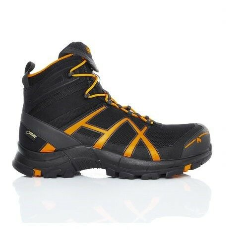 HAIX NERO Impermeabile EAGLE Safety 610017 Gore-Tex Impermeabile NERO SCARPE SICUREZZA composito b71262