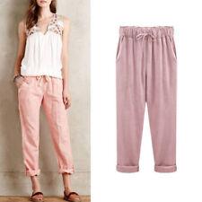 b23e27d6e06f5 item 2 Plus Size Womens Casual Autumn Loose Trousers Cropped Ninth Ladies  Pants UK 8-24 -Plus Size Womens Casual Autumn Loose Trousers Cropped Ninth  Ladies ...