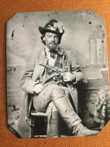 George-Maddox-Confederate-Cavalryman-Historical-RP-tintype-C374RP