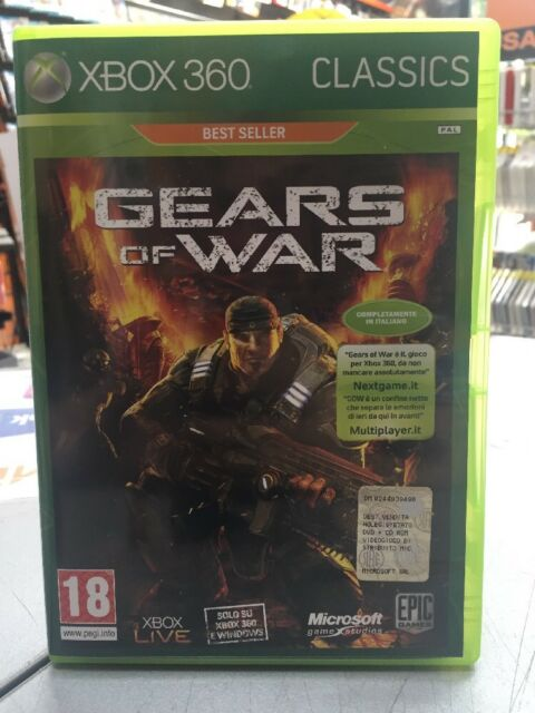 Gears Of War Ita XBox 360 NUOVO