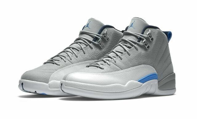 Nike 130690-007 Air Jordan Size 12 Men Sneaker - Grey/Blue