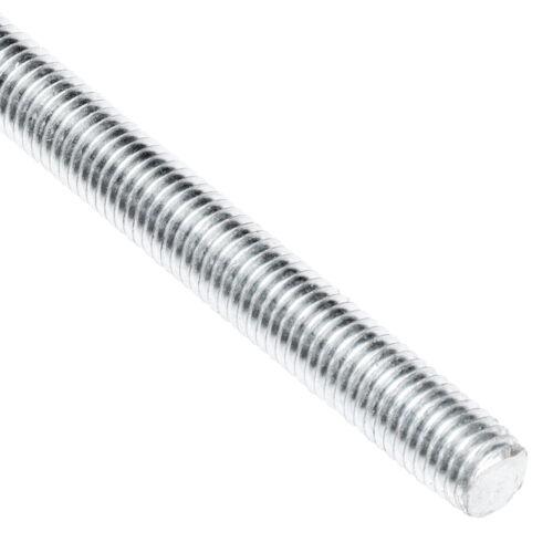 8 Pack Allfasteners 5//8-11 x 6 ft Threaded Rod Zinc