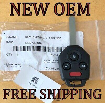 CWTWB1U811, 4D-60 Key fits 2011 2012 2013 2014 Subaru Legacy Outback Keyless Entry Remote
