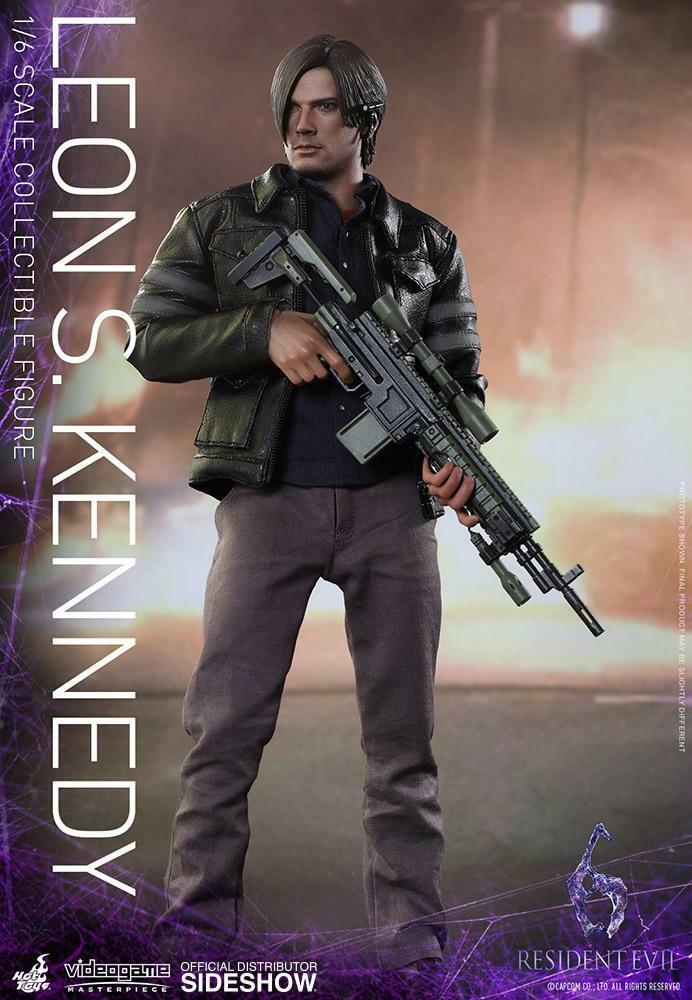 Resident Evil Hot Toys Leon S Kennedy 1 6 Scale Action Figure HOTVGM22