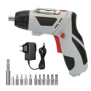 45 In 1 Set 4.8V Cordless Electric Screwdriver Power Drills Bit Kit EU//US Plug D