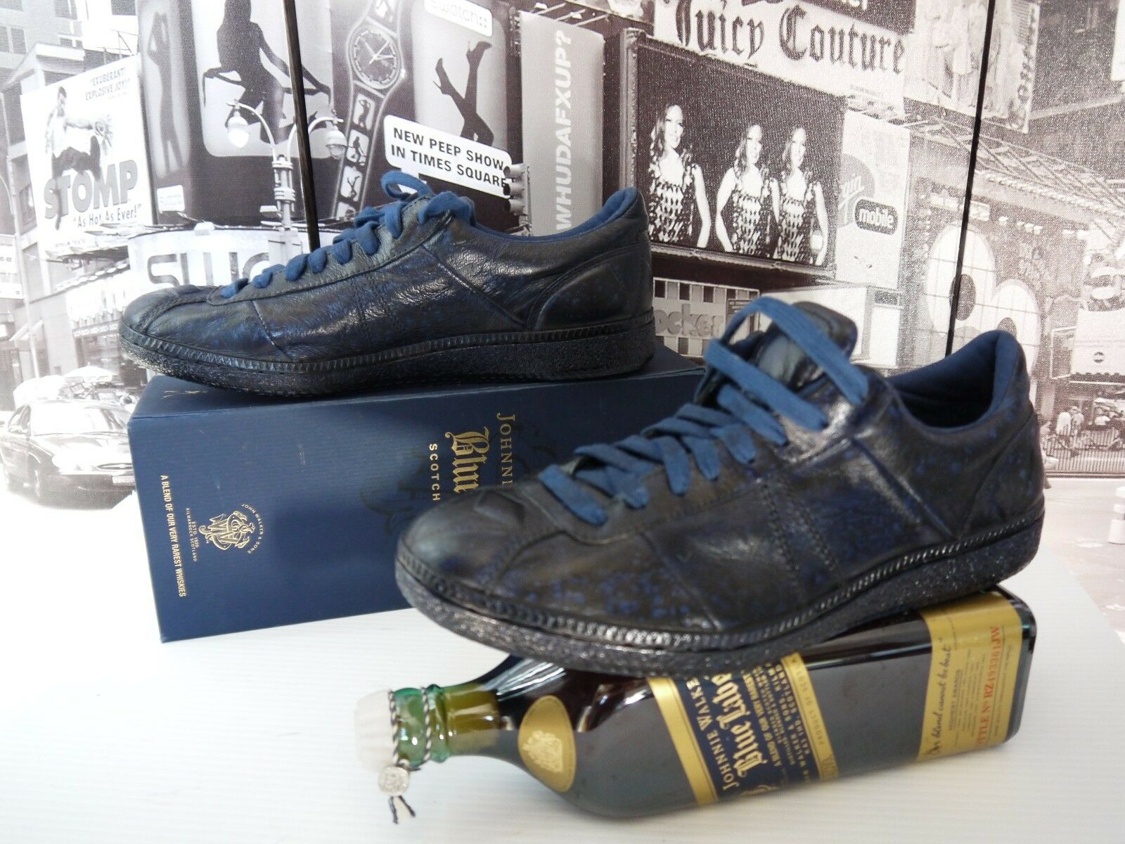 310 Diesel Black Gold GERALD-LL Blue size US 9 / NEW MUST HAVE !!!