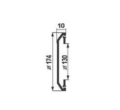 Conduits de ventilation couverture 174 mm x 174 mm Air Vent Grille Moustiquaire râper h00321