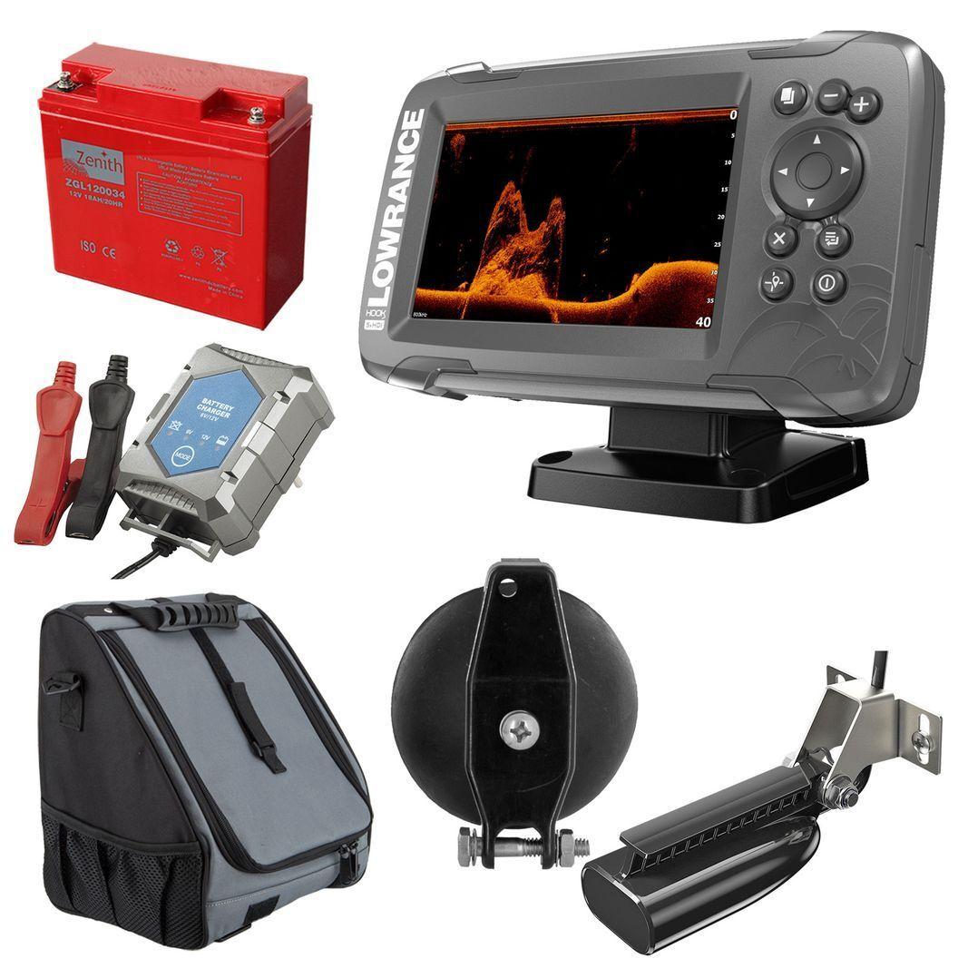 Lowrance Hook25x Navigazione GPS Splitscaliente Ecosceaglio 200455800 Khz