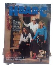 H Bar C Ranchwear VINTAGE ADVERTISING SIGN AMERICAN VINTAGE