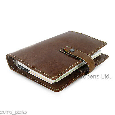 Filofax Malden Personal Size Leather Organiser - All Colours Available