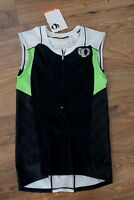 Pearl Izumi Lime Green Black White Elite Sl Tri Jersey Bike Run Swim S