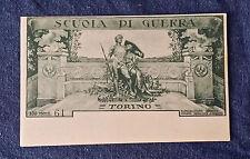 Cartolina Militare Scuola di Guerra Torino (61' esemplare, non viaggiata)FC_3/17