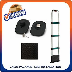 Details about RETAIL SECURITY TOWER AND 1000 SECURITY TAGS EAS LOSS  PREVENTION MADE IN USA