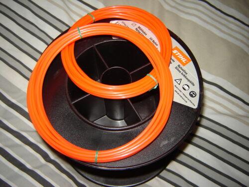 2X 5 MTR X 3mm GENUINE STIHL ROUND STRIMMER  CORD LINE PETROL HONDA  STRIMMERS