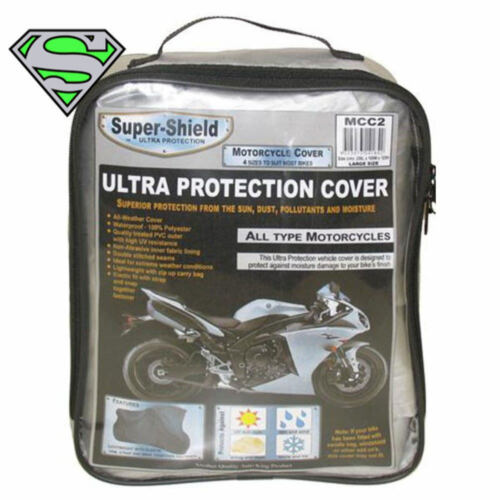Quality Motorbike Cover Super Shield Xl 248 X 105 X 128cm