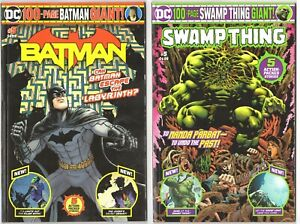 Swamp Thing #5 / Batman #5 100 Page Giants Walmart Exclusive NEW JOKER ORIGIN
