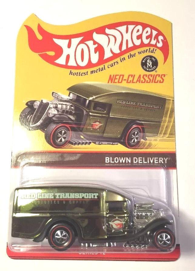 todos los bienes son especiales 1 1 1 64 Hot Wheels Camión de entrega de soplado  a la venta