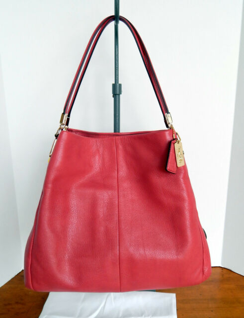 ... order coach madison small phoebe shoulder bag in leather loganberry pink  26224 54f98 e8913 d55924da12
