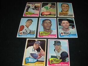 "1965 Topps baseball Hi # Short Prints and Stars ""You Pick""$3.00 each-only 3 left"