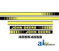 John Deere Parts DECAL SET HOOD  JD4055 4055