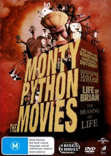 MONTY PYTHON The Movies Collection : NEW DVD