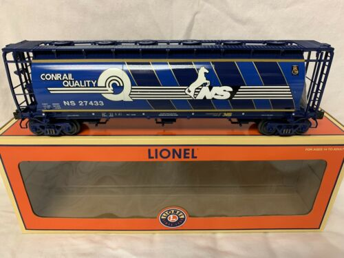 ✅LIONEL CONRAIL NS HERITAGE CYLINDRICAL HOPPER 6-27433 NORFOLK SOUTHERN